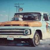 Chevrolet Pickup 1966 (Composition)