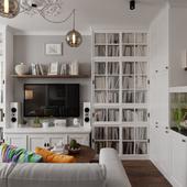 Интерьер квартиры | 81 м.кв