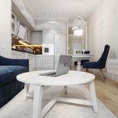 Дизайн интерьера квартиры в ЖК ОмегаХаус