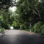 Road. CGI