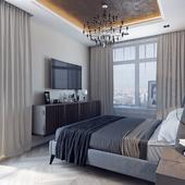спальня квартира Петербург