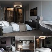 Classic berdoom for man   30 square m  Odessa,Ua     Спальня в классическом стиле   30 м.кв. Одесса