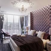 Спальня в вензелях