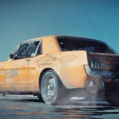 Ford Mustang 1966 (Dragster)