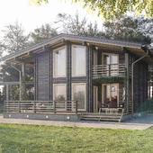 Деревянный дом в д. Весна