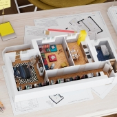 Visualization. 3D Floor Plan.