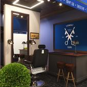 Exhibition Pavilion TOMMY GUN Barbershop