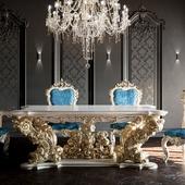 Набор мебели в стиле барокко