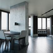 Дизайн-проект апартаментов в ММДЦ Москва-Сити