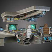 мостик космического корабля