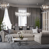 Living room. Design+Visualization