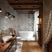 Ванная Loft