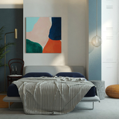 Bedroom for color