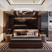 Спальня к современном стиле