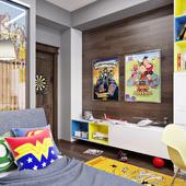 спальная для мальчика
