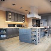 Кухня Фортвуд фабрики Зов