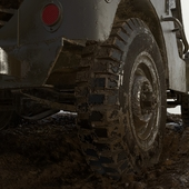 Willys Jeep Диорама