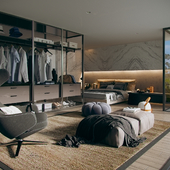 Penthouse Master Bedroom Views.