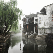 Ancient city Xitang in Jiaxing