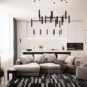 Типовой дизайн квартир для ЖК Level Павелецкая
