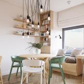 Уютная квартира для девушки