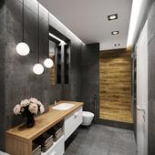 Visualization of the bathroom