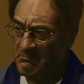 цифровой портрет Роберта Де Ниро