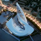 конкурсный проект конгресс центра в г. Челябинск