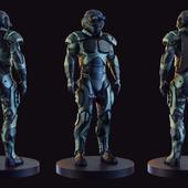 Futuristic Soldier concept