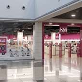 Дизайн и визуализация входной группы для сети магазинов Kari