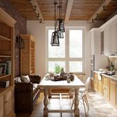 Кухня 15,5кв.м