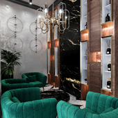 Reception of beauty salon
