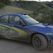 Subaru World Rally Team car