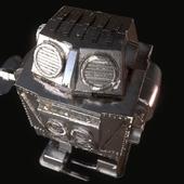 Робот заводной СССР   USSR mecha robot