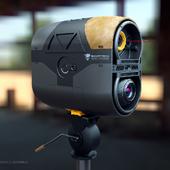 Detection target scanner