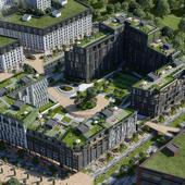 Концепция жилого комплекса в г. Калининград