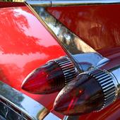 Cadillac de Ville 1958 close-up