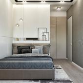Спальня в силе минимализм
