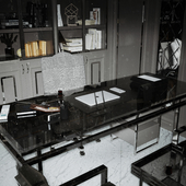 Home office / Autocad / 3Ds max / Corona / Ps