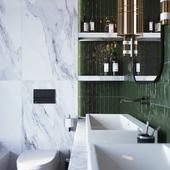 Bathroom in Gelendzhik