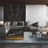 Visualization   Living Room   Minotti Yang   Reference