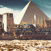 Egyptian spaceship 2