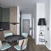Small 35sq.m. apartment