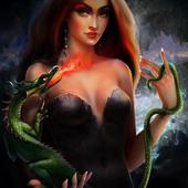 Девушка с драконом
