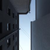 Серый дворик