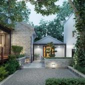 Жилой дом HANGZHOU SHI( Сделано по референсу)