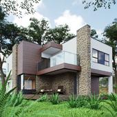 Дом в стиле Хай-хай