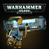 Warhammer 40000. The Mark III Belisarius Pattern Plasma Incinrator ( fan art )