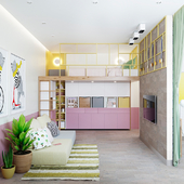 Детская комната 30м2