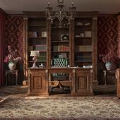 Уютный кабинет.